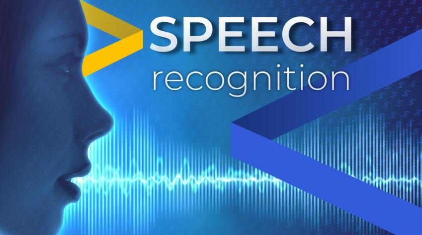 Speech recognition - start writing with a human voice