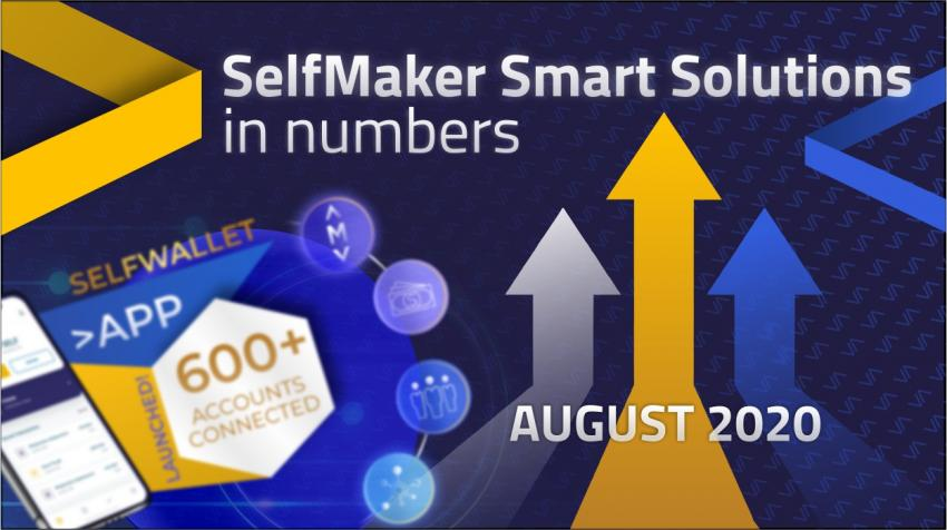 37823$ in one shot and SelfWallet app! That's the August 2020 in SelfMaker Smart Solutions!!