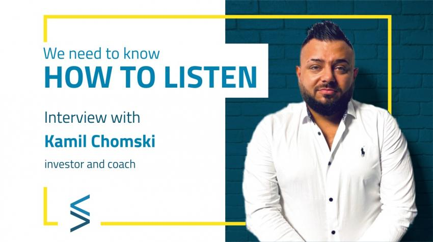 """""""We need to know how to listen"""". Welcome to the first interview in the #selfevolution <STAR> series powered by SelfMaker Smart Solutions"""