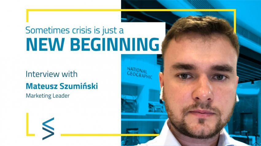 """""""Sometimes crisis is just a new beginning"""". Feel invite to read second interview in the #selfevolution <STAR> series powered by SelfMaker Smart Solutions"""