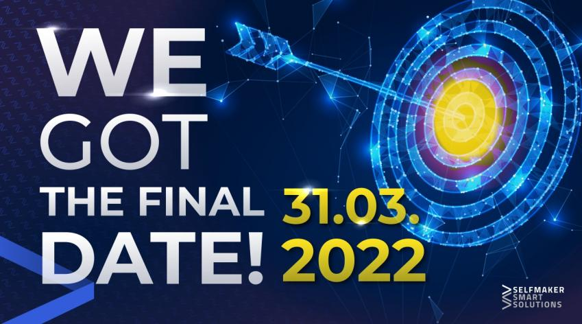 End date of SelfMaker Smart Solutions tokenization