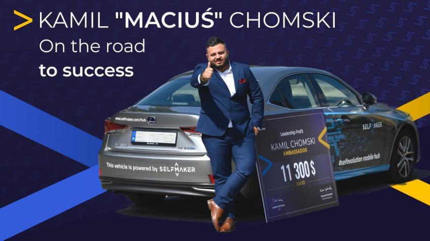"Kamil ""Maciuś"" Chomski - On the road to success - #selfevolution interview"